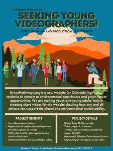 Young Videographer Opportunity